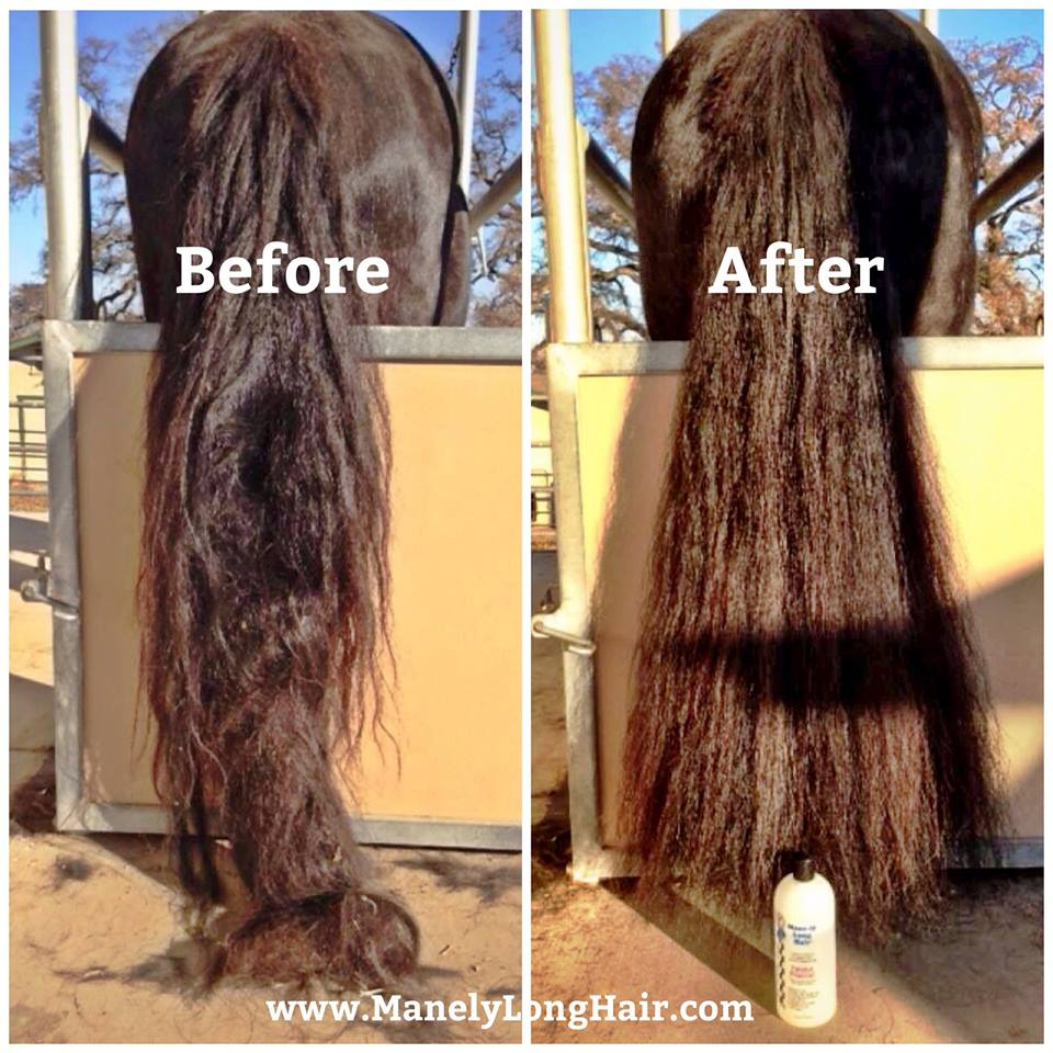 Longer Silkier Smoother Mane And Tail Tangle Free No